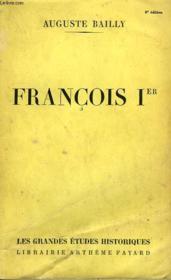 Francois Ier. - Couverture - Format classique