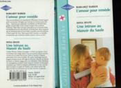L'Amour Pour Remede Suivi De Une Intruse Au Manoir Du Saule (One In A Million - Nurse Maitland) - Couverture - Format classique