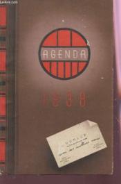 Agenda Dunlop 1938. - Couverture - Format classique