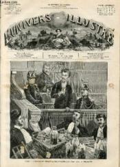 L'UNIVERS ILLUSTRE - VINGT-HUITIEME ANNEE N° 1578 Paris - Couverture - Format classique