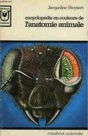 Encyclopedie En Couleur De L'Anatonie Animale - Couverture - Format classique