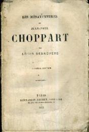 Les Mesaventures De Jean Paul Choppart. - Couverture - Format classique