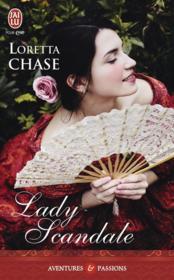 Lady scandale - Couverture - Format classique