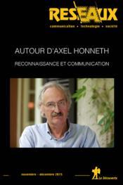 Revue Reseaux N.193 ; Autour D'Axel Honneth - Couverture - Format classique