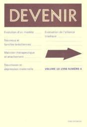 Revue Devenir N.4 Vol.10 1998 - Couverture - Format classique