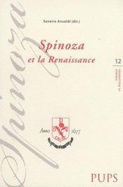 Spinoza et la renaissance - Intérieur - Format classique