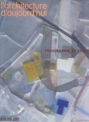 L'Architecture D'Aujourd'Hui N.339 - Couverture - Format classique