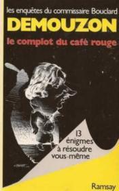 Le complot du cafe rouge - Couverture - Format classique