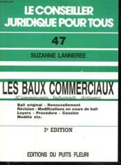 Les Baux Commerciaux - Couverture - Format classique
