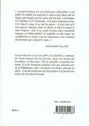 Bonheur Rustique Recits Campagnards - 4ème de couverture - Format classique