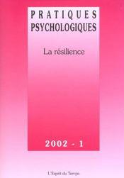 Pratiques psychologiques n 1 2002 - Intérieur - Format classique
