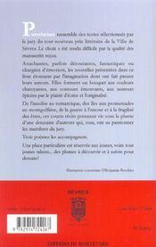 Porcelaine ; prix de la ville de sèvres - 4ème de couverture - Format classique