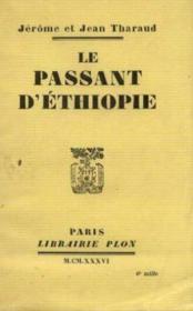 Le passant d'Ethiopie - Couverture - Format classique