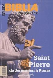 Revue Biblia N.2 ; L'Apôtre Pierre De Jérusalem A Rome - Couverture - Format classique