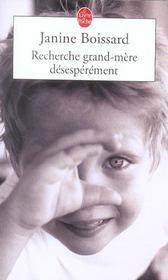 Recherche grand-mere desesperement - Intérieur - Format classique