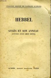 Guges Et Son Anneau - Guges Und Sein Ring - Couverture - Format classique