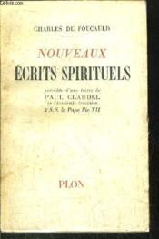 Nouveaux Ecrits Spirituels - Couverture - Format classique