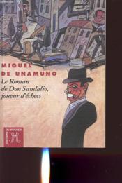 Le roman de don sandalio, joueur d'echecs - Couverture - Format classique
