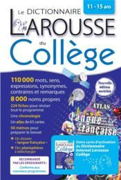 Le dictionnaire Larousse du collège ; bimédia - Couverture - Format classique