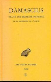 Traité des premiers principes t.3 - Couverture - Format classique