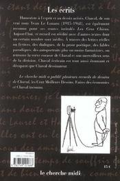 Les écrits - 4ème de couverture - Format classique