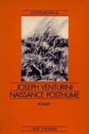 Naissance Posthume - Couverture - Format classique