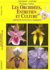 Les Orchidees, Entretien Et Culture - Intérieur - Format classique