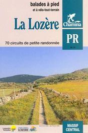 **La Lozere - Intérieur - Format classique