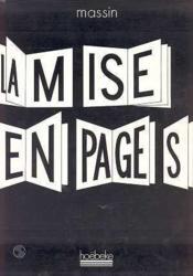 La mise en pages - Couverture - Format classique