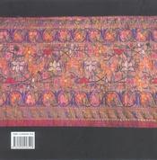 Brocarts de soie - 4ème de couverture - Format classique