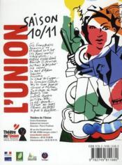 Revue L'Avant-Scene Theatre N.1290 ; Les Amis Du Placard - 4ème de couverture - Format classique