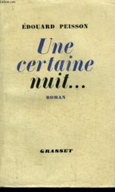 Une Certaine Nuit... - Couverture - Format classique