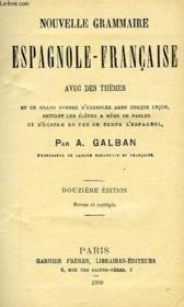Nouvelle Grammaire Espagnole-Francaise Avec Des Themes - Couverture - Format classique