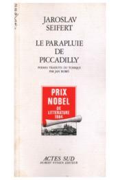 Le parapluie de piccadilly - Couverture - Format classique
