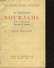 Le Lieutenant Bourjade - Couverture - Format classique