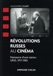 Révolutions russes au cinéma - Couverture - Format classique