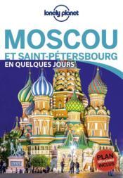 Moscou et Saint-Pétersbourg (édition 2018) - Couverture - Format classique