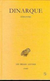 Discours - Couverture - Format classique