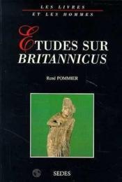 Etudes Sur Britanicus - Couverture - Format classique