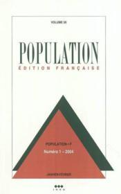 Population 2004 N 1 Janvier-Fevrier (édition 2004) - Couverture - Format classique