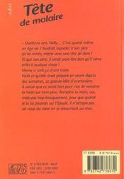 Tete de molaire - 4ème de couverture - Format classique