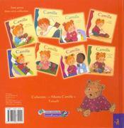 Camille et son drôle de nounours - 4ème de couverture - Format classique