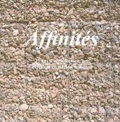 Affinites 25 ans d architecture arts et lettre en region wallonn - Intérieur - Format classique