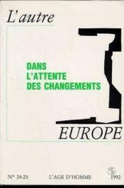Autre Europe 24-25 1992 - Couverture - Format classique