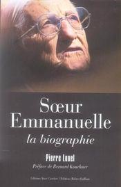 Soeur Emmanuelle, la biographie - Intérieur - Format classique