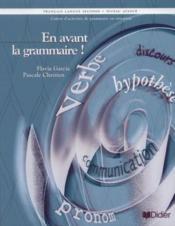En Avant La Grammaire ! Niveau Avance - Couverture - Format classique