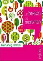 Le breton du Morbihan - Couverture - Format classique