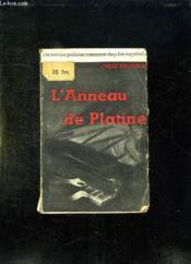 L Anneau De Platine. - Couverture - Format classique
