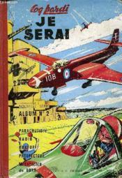 Coq Hardi, Je Serai, Nouvelle Serie, Album N° 2 - Couverture - Format classique