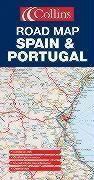 **Spain & Portugal Road Map - Couverture - Format classique